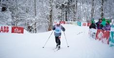 Special Olympics GaPa 2013 - Skilanglauf - 159 Kai Schemberger auf der 7,5km Strecke