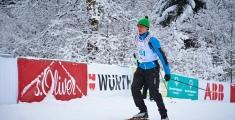 Special Olympics GaPa 2013 - Skilanglauf - 151 Kevin Burba auf der 7,5km Strecke