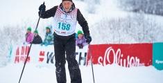 Special Olympics GaPa 2013 - Skilanglauf - 158 Oliver Raabe auf der 7,5km Strecke