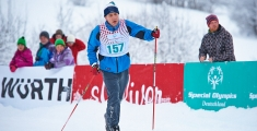 Special Olympics GaPa 2013 - Skilanglauf - 157 Thomas Kornfeld auf der 7,5km Strecke