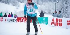 Special Olympics GaPa 2013 - Skilanglauf - 161 Heike Naujoks auf der 7,5km Strecke
