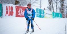Special Olympics GaPa 2013 - Skilanglauf - 160 Kathrin Strossner auf der 7,5km Strecke