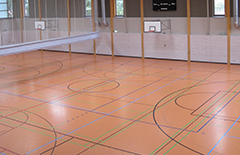 Für die Judoka wurde die Sporthalle der Hulda-Pankok-Schule reserviert.