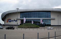 Die Eröffnungsfeier findet im ISS Dome statt.