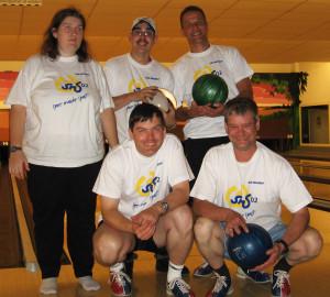 Die Bowling-Truppe vom SMS 02 e.V.