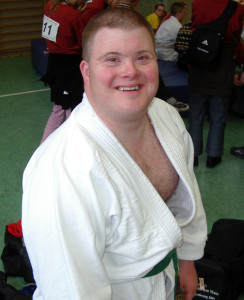 Judoka Dietrich Lüpke