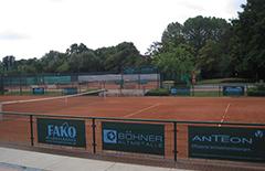 Auf der Anlage des TC Rheinstadion werden die Tennisathleten aufspielen.