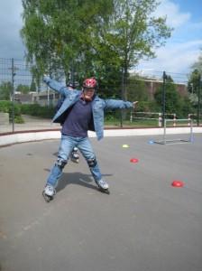 Rollerskating Jochen