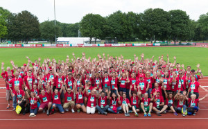 ABB Helfer bei den Special Olympics Hannover 2016. Foto: ABB