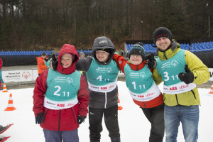 Mein Team: Nicole Behn, Alexander Kunze, Lukas Böse und ich.